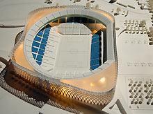 futur stade vélodrome, maquette